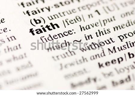 faith dictionary definition