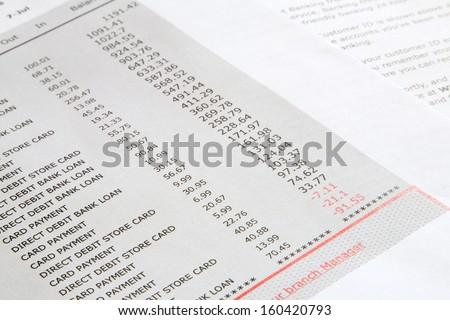 Free Photos Fake Bank Statement Avopix Com