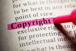 Fake Dictionary, definition of the word Copyright.