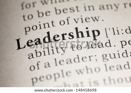 Fake Dictionary, Dictionary definition of the word Leadership.