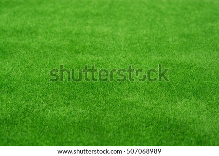 Fake green grass for use as nature background - Shutterstock ID 507068989