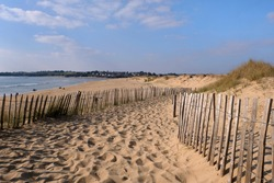 Falaise beach in Guidel Plages in Brittany