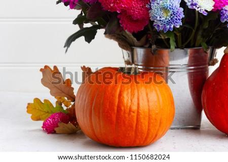 fall chrysanthemum flowers #1150682024