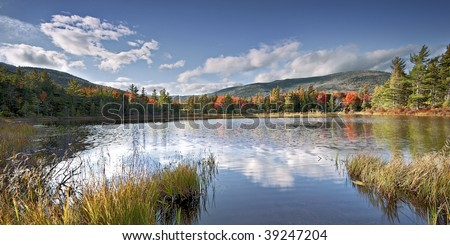 Fall colors in the White Mountains of New Hampshire