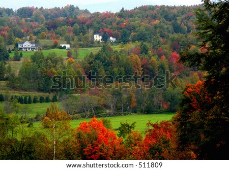 Fall country scene