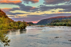 Fall Evening Across Harper's Ferry