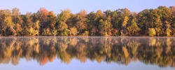 Fall foliage on the Potomac River, Virginia
