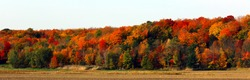 Fall foliage season in Quebec