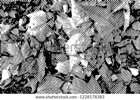 Fall leaves. Halftone with circles #1228178383