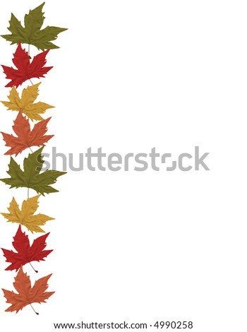 Fall Leaves Page Border http://www.shutterstock.com/pic-4990258/stock-photo-fall-leaves-page-border.html