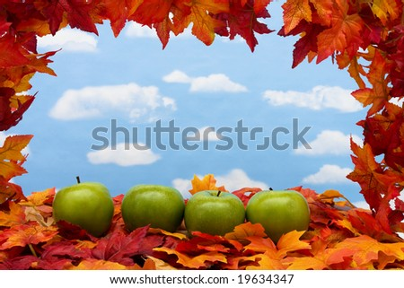 Scenes Backgrounds Sky Background Fall Scene