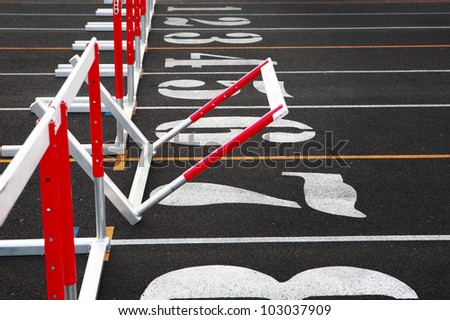 Fallen Hurdle