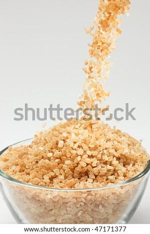 Falling cane sugar