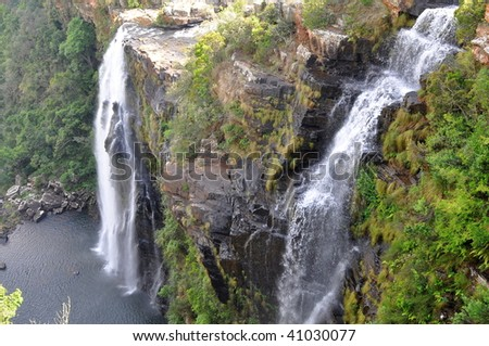falls Lisbon in Blyde river canyon,South Africa