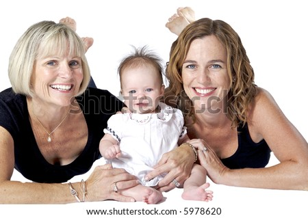 Families are the Best! Three Beautiful Women from Three Generations