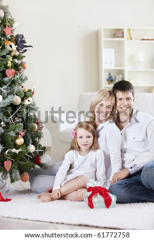 Families with a child at home with decked spruce
