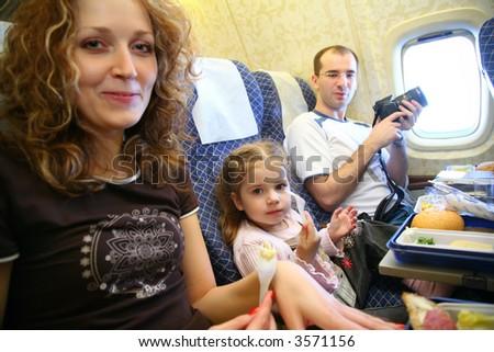 family airplane salon