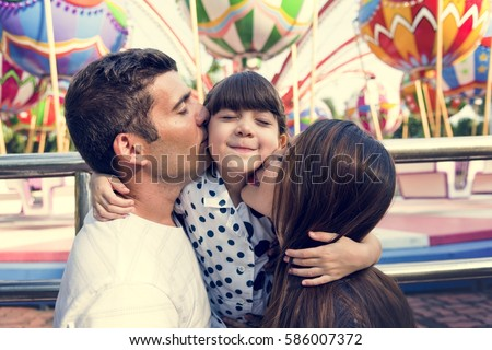 Family Holiday Vacation Togetherness Kiss Love
