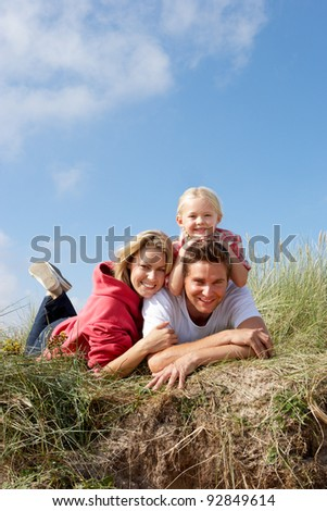 Family outdoors