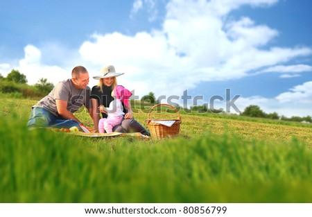 Family picnic fun