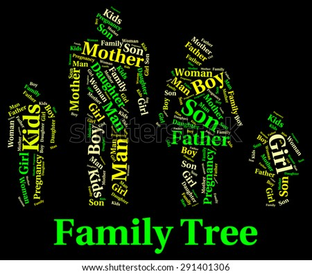 Family Tree Meaning Blood Relation And Genealogical