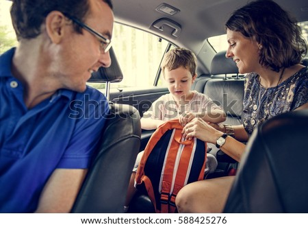 Family Trip Travel Journey Together Vacation Time #588425276