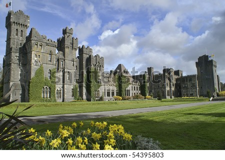 Famous Ashford Castle, County Mayo, Ireland.  A beautiful Travel Destination.