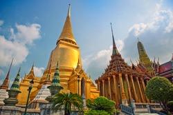 Famous  Bangkok   Temple -