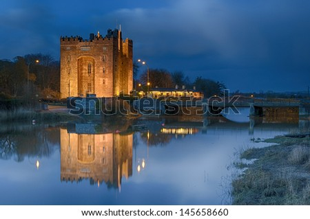 famous bunratty castle, county clare, ireland
