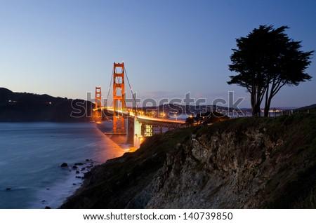 Famous California and USA landmark on the West Coast