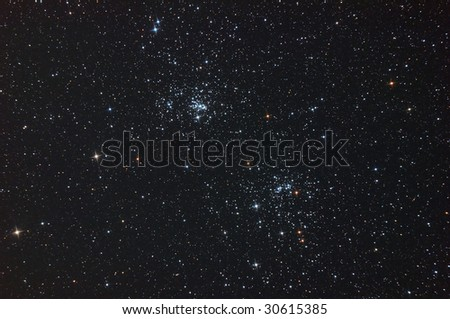 Famous Double Cluster of Perseus.
