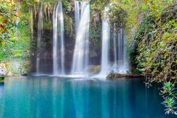Famous Kursunlu Waterfalls in Antalya