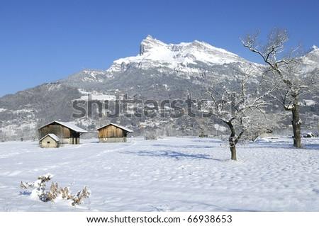 Evasion Mont Blanc Piste Map. logo piste Les contamines