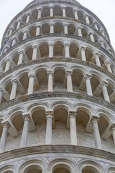 Famous Landmark Leaning Tower of Pisa Italy