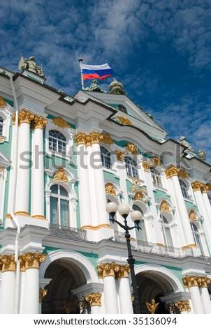 Famous landmark of sankt petersburg russia winter for Famous landmarks in russia