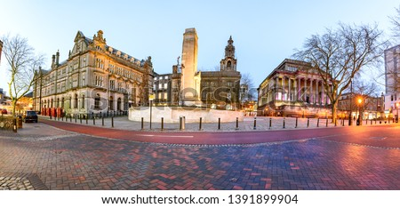 Famous landmarks of a Preston city in one frame #1391899904