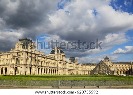 Famous Landmarks of Paris, France