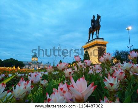 Famous place Bangkok Thailand #1154487382