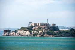 Famous Prison in San Francisco California USA