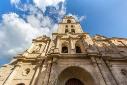Famous San Francisco Square (Plaza de San Francisco de Asis) in Old Havana, named after the nearby Franciscan convent