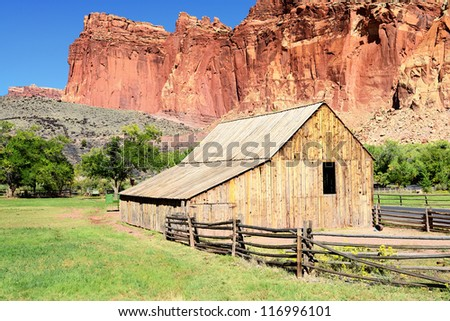 famous traditional farm
