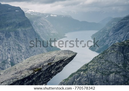 famous trekking destination and ...