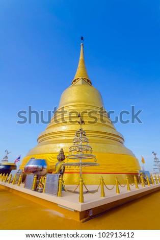 Famous Wat Saket (Golden Mount) in Bangkok,Thailand