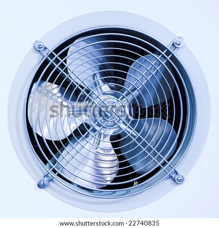 Fan in refrigerator