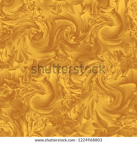 Fancy Allover Single Colour Design  #1224968803