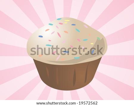 muffin clip art. illustration clip art