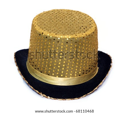 Fancy hat isolated on white