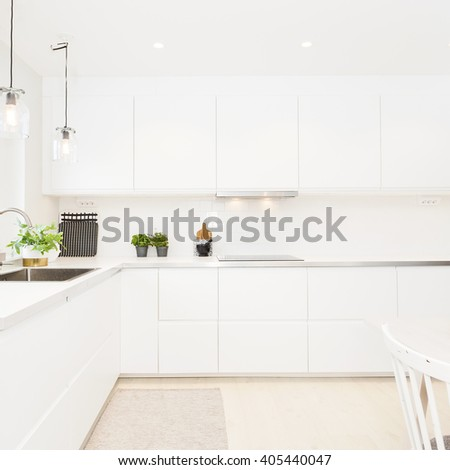 fancy kitchen interior