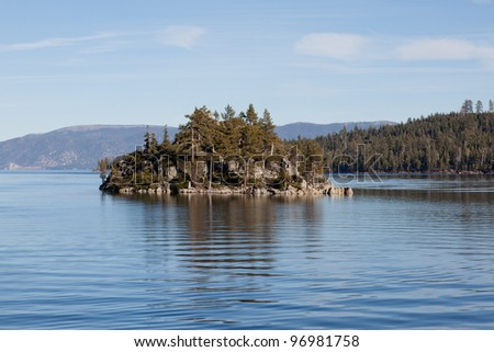 Fannette Island is the only island in Lake Tahoe, California/Nevada, United States. It lies within Emerald Bay.