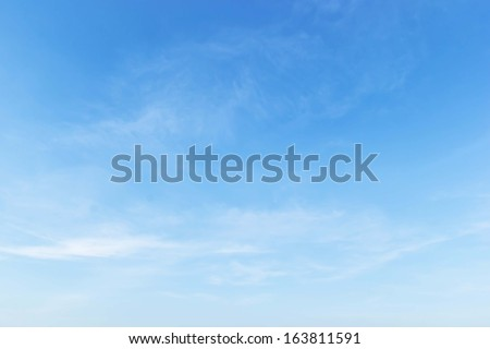 Shutterstock Fantastic soft white clouds against blue sky